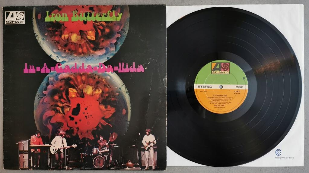 Iron Butterfly - In-A-Gadda-Da-Vida LP