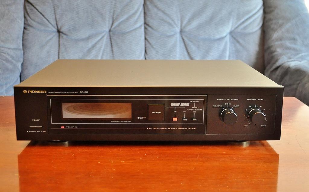 Pioneer SR60 Revrboration amplifier Super!