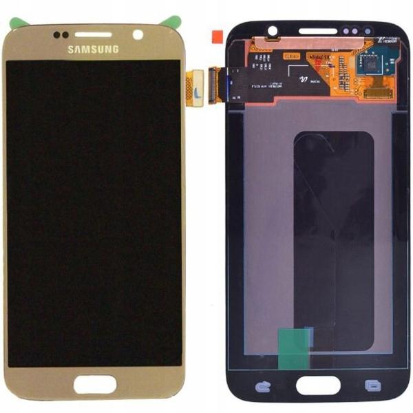 WYMIANA WYŚWIETLACZA SAMSUNG S6 G920 NAPRAWA LCD