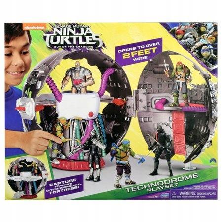 Turtles Wojownicze Zolwie Ninja Technodrome Kapsul 7715961265 Oficjalne Archiwum Allegro