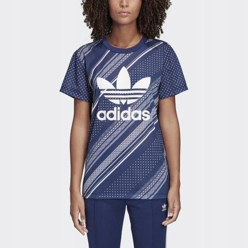 Unikatowa Koszulka Damska ADIDAS | Rozmiar S