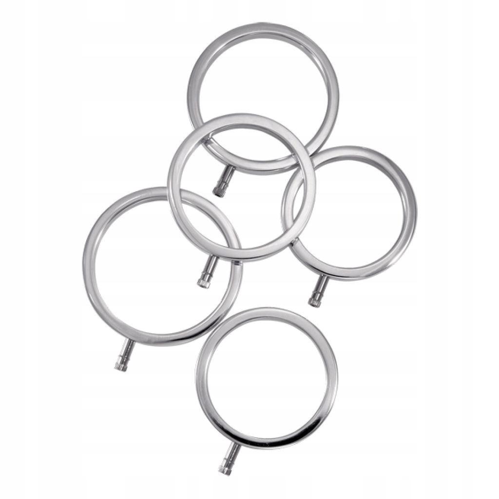 Metalowe pierścienie na penisa - ElectraStim Solid