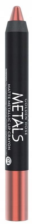 GOLDEN ROSE METALS Matte Metallic Lip Crayon 04