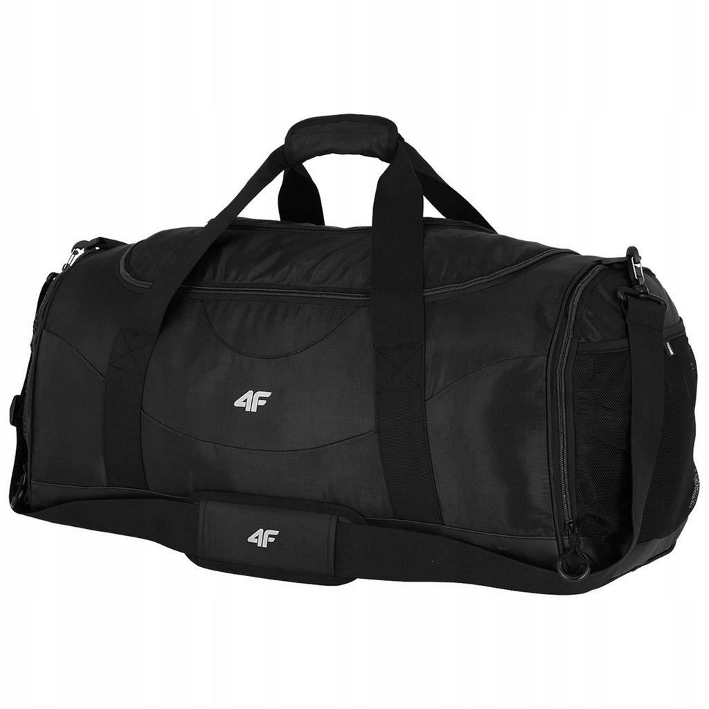 DUŻA podróżna torba 4F na ramię sportowa 70L