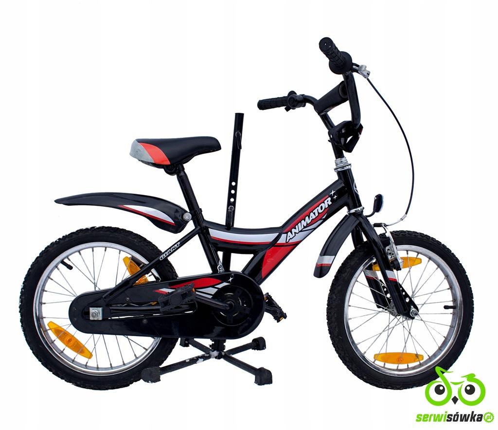 Rower dziecięcy Giant Animator 16 czarno-czerwony