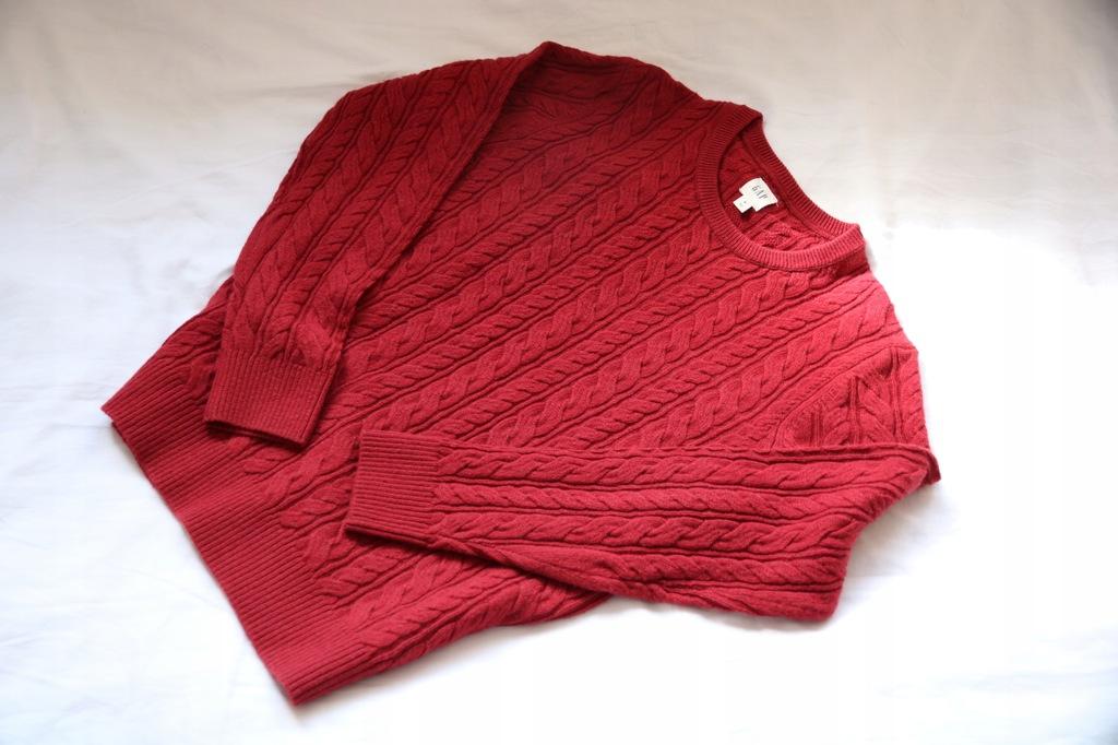 GAP swetr bordowy roz.M