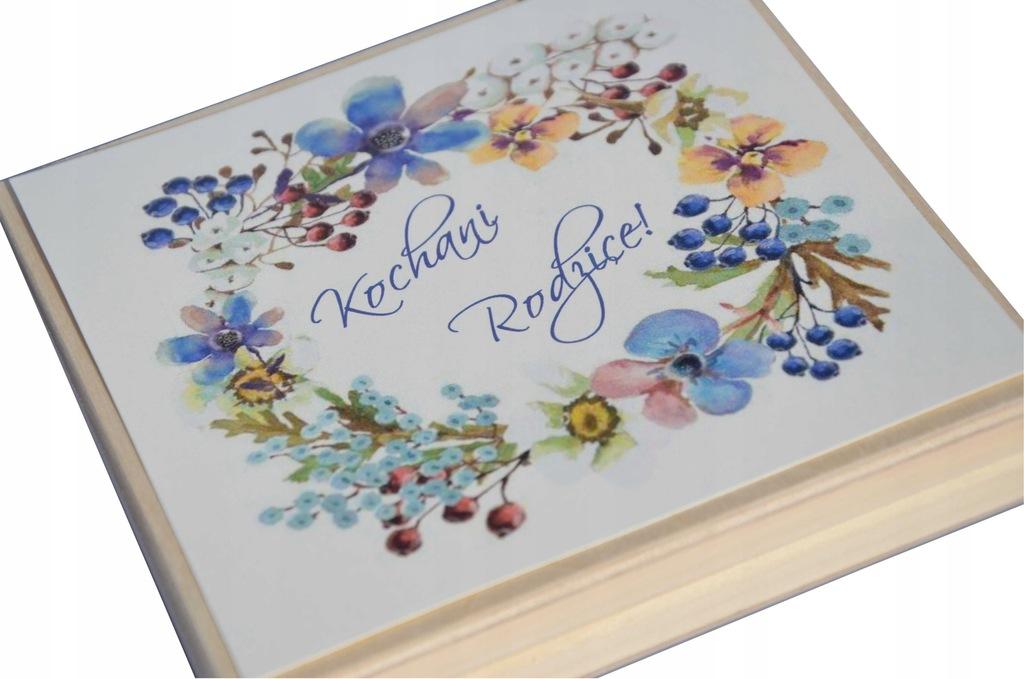 Zaproszenie ślubne dla rodziców w pudełku /wz.14