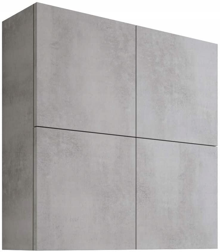 MaMa szafka łazienkowa wisząca 71x71x22 biała