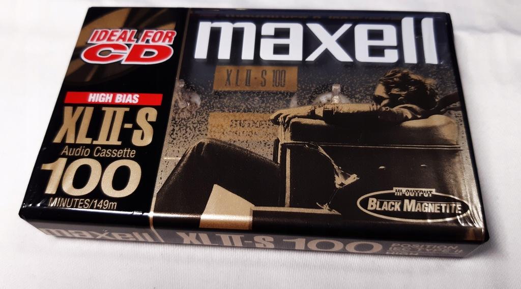 kaseta MAXELL XL II S 100