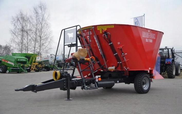 Wóz paszowy paszowóz T-659 BELMIX 6m3 METAL-FACH