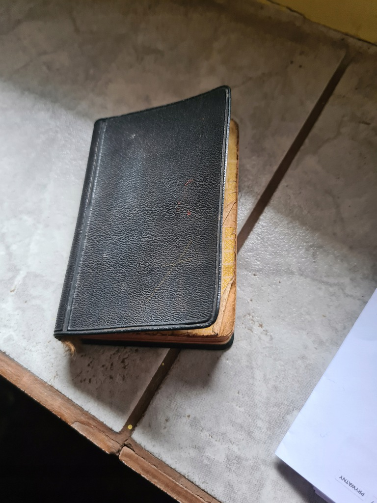 stary modlitewnik 1958 krakow