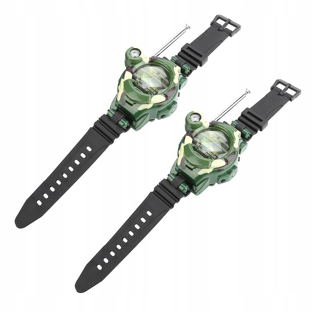2szt Walkie talkie zegarek elektroniczny zegarek