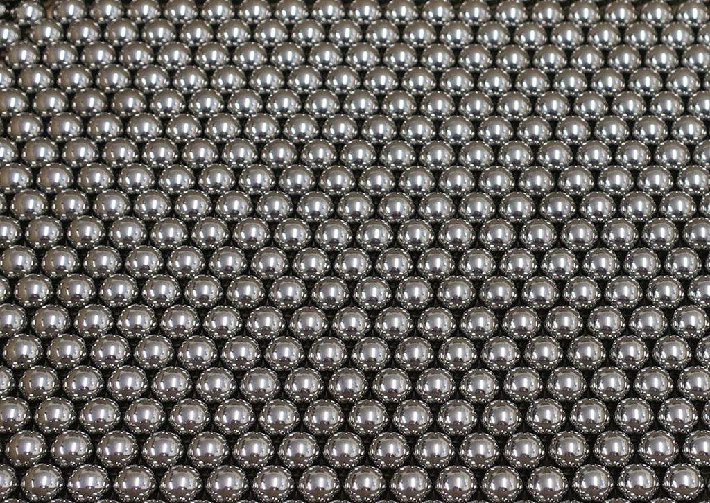 Stalowe okrągłe kule 8 mm