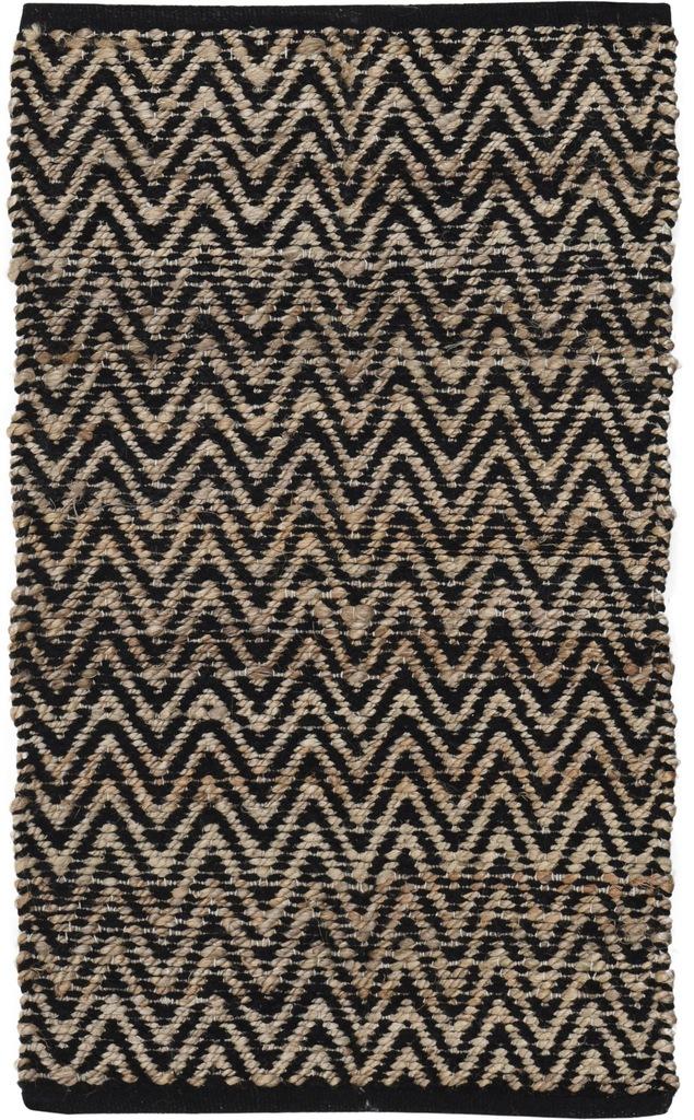 Dywanik Chodnik 90 x 60 cm Juta z bawełną