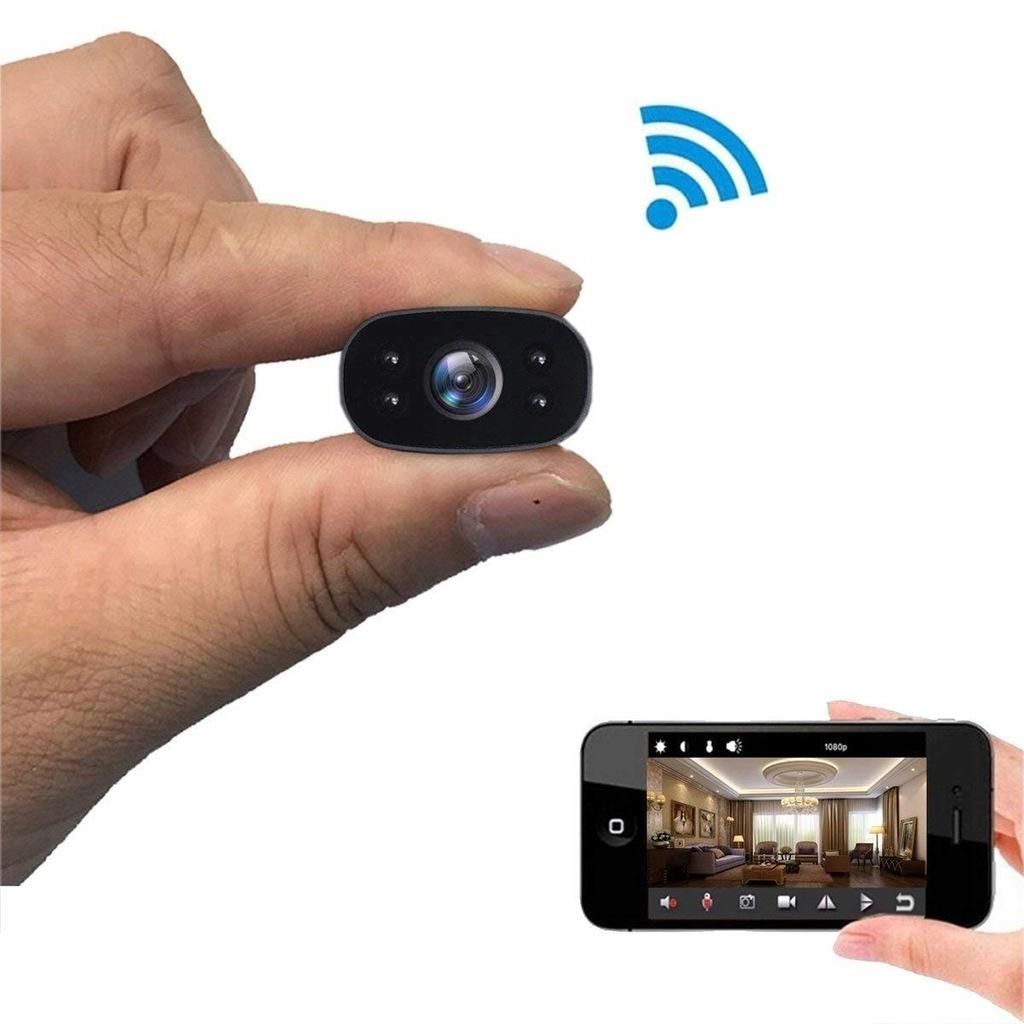 I4E75 przenośna mała kamera monitorująca Full HD 1