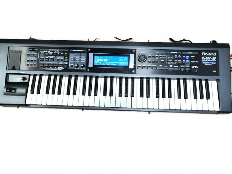 Keyboard Roland Gw 8