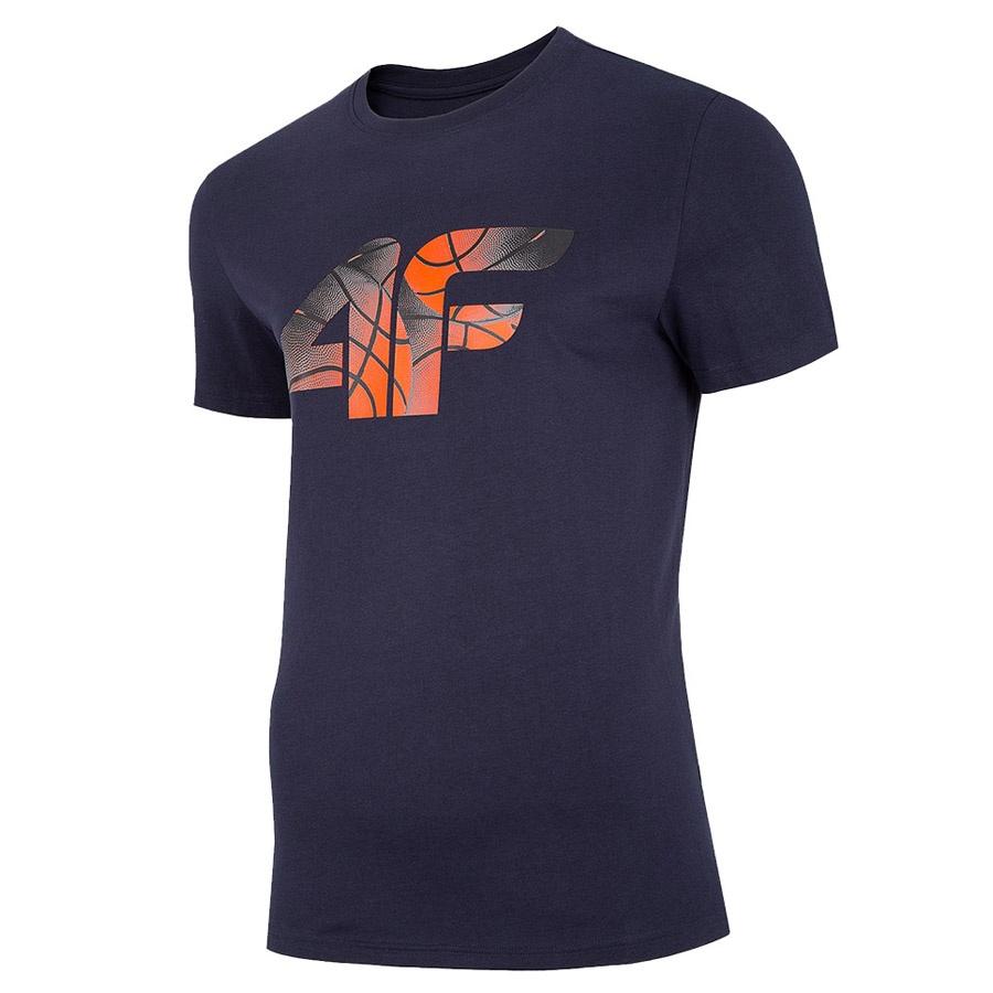 T-Shirt 4F H4L20-TSM032 31S granatowy M!