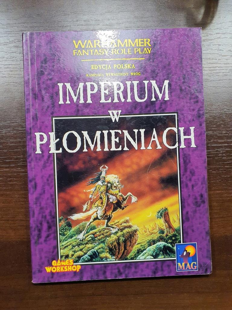 IMPERIUM W PŁOMIENIACH - Warhammer RPG - 1 ed. PL