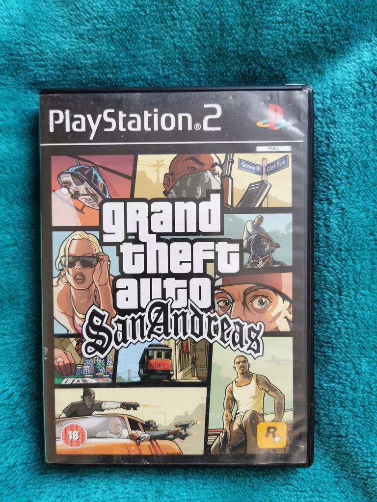 Grand Theft Auto Gta San Andreas Ps2 9738477392 Oficjalne Archiwum Allegro