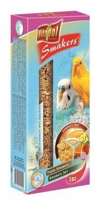 Vitapol Smakers dla papugi falistej - mix 3szt [21