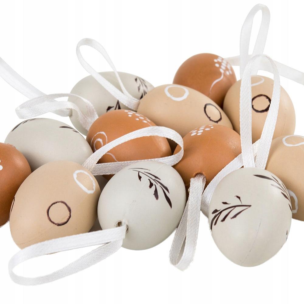 Jajka Wiszace Jajka Wielkanocne Wielkanoc 12szt 9022126960 Oficjalne Archiwum Allegro