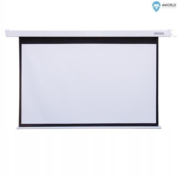 Ekran Projekcyjny z Przełącznikiem 221x124 (16:9)