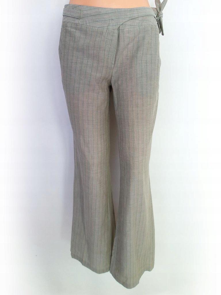 Reserved NOWY Spodnie Rozmiar M beżowy kieszenie b