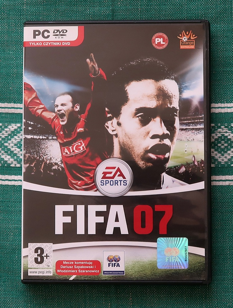 GRA KOMPUTEROWA NA PC FIFA 07 / 2007 PL-SZPAKOWSKI