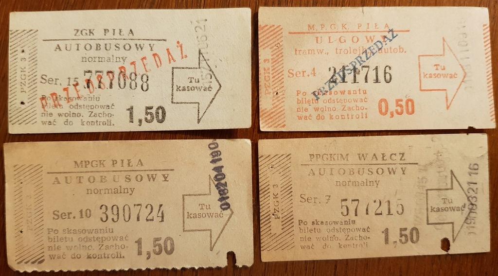 Bilety - WAŁCZ, PIŁA - 4 sztuki