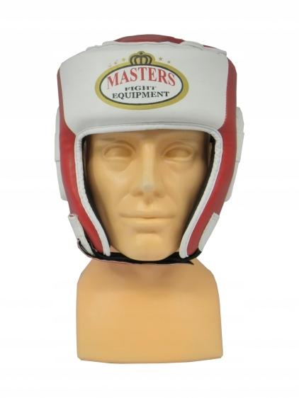 Turniejowy, meczowy, kask bokserski MASTERS XL