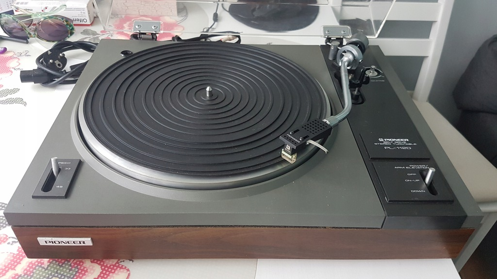 Gramofon Pioneer PL-112D, wkładka Shure M73EG