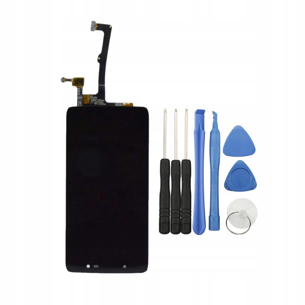 Montaż ekranu telefonu LCD czarny