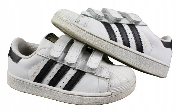 ADIDAS SUPERSTAR buty sportowe dziecięce r. 32