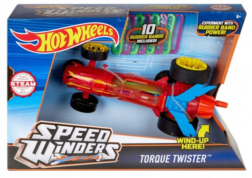 Hot Wheels - Autonakręciaki Torque Twister czerw.