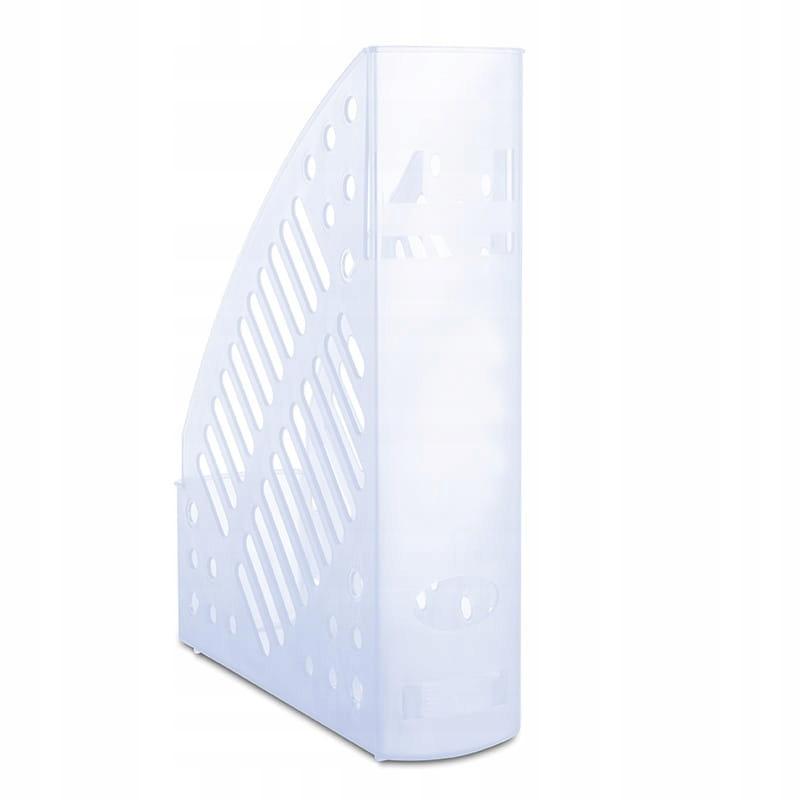Pojemnik ażurowy DONAU transparentny niebieski