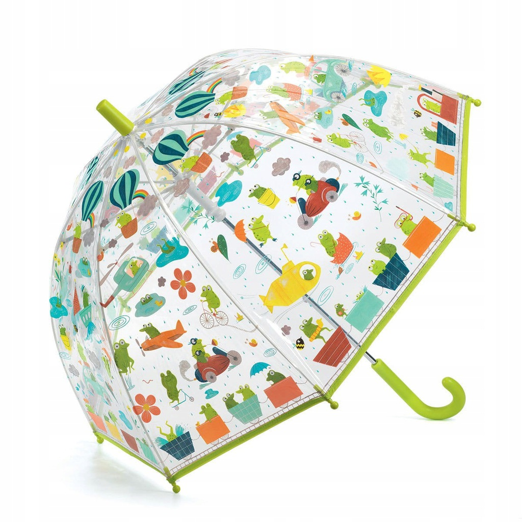 Parasol przeciwdeszczowy Żabki Djeco