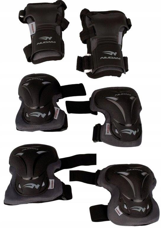 NIJDAM Pro Line ochraniacze sportowe roz M 12-E
