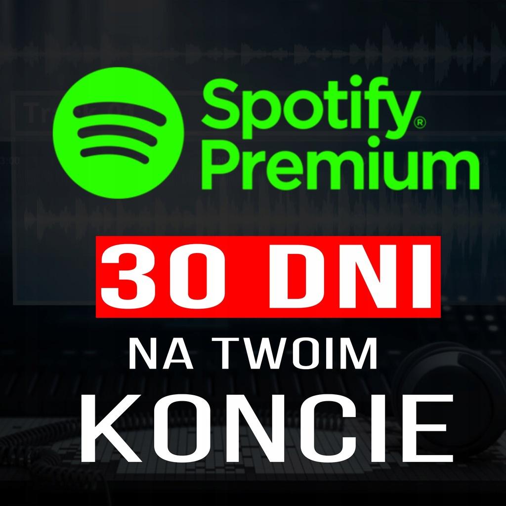 Spotify Premium Na Twoim Koncie 30 Dni 9733446180 Oficjalne Archiwum Allegro