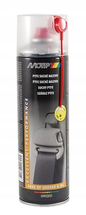 PTFE suchy (teflon) w sprayu 500ml MOTIP 090201
