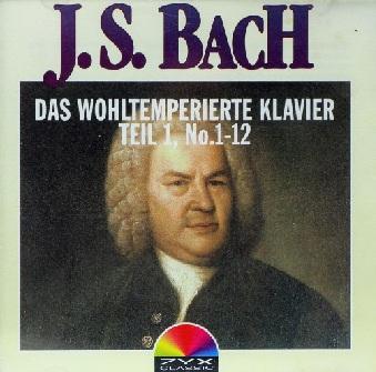J. S. Bach - Das Wohltemperierte Klavier Teil 1...