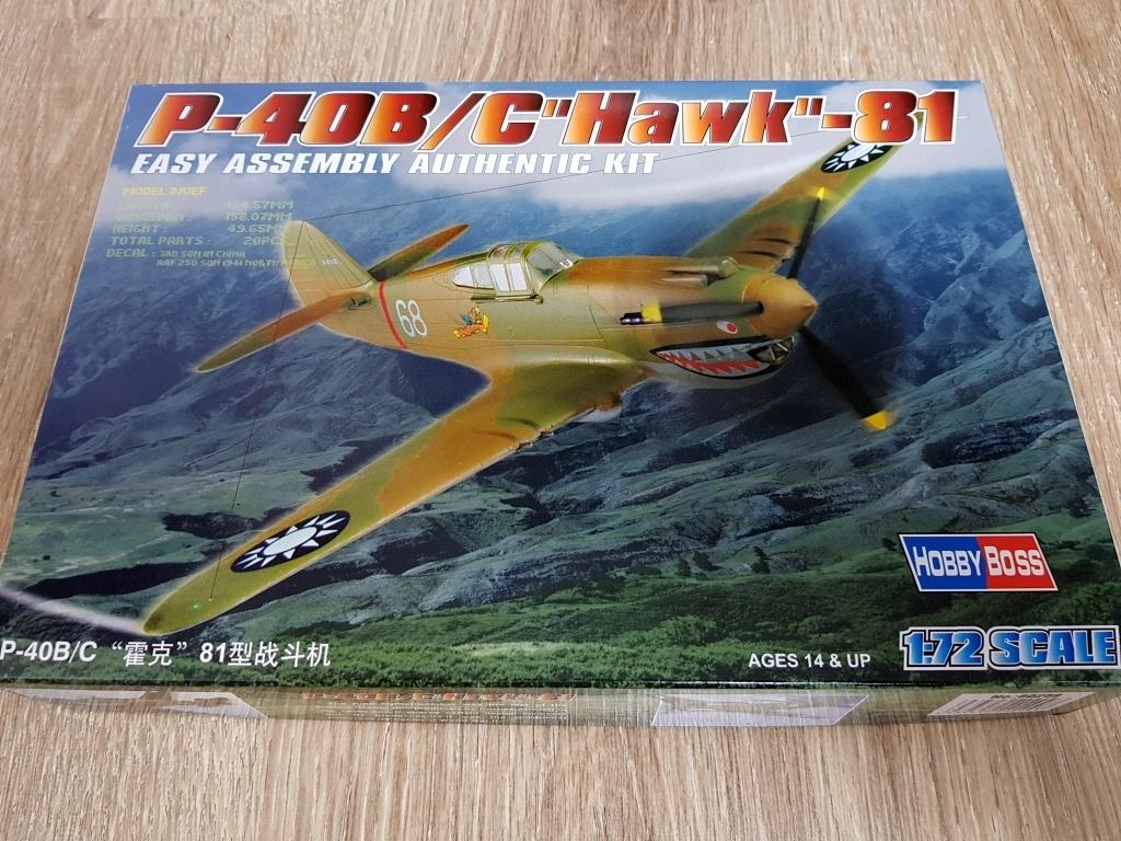P-40 B/C Hawk-81 - HobbyBoss - 1/72