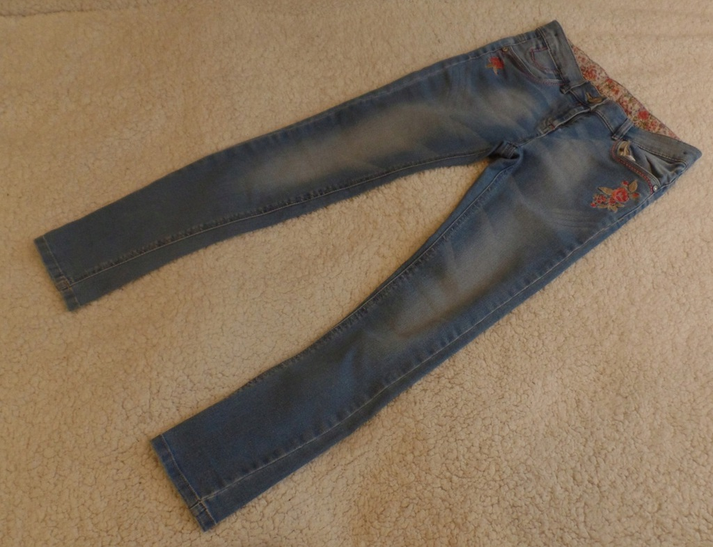NEXT - jasne jeansy - rozm. 152