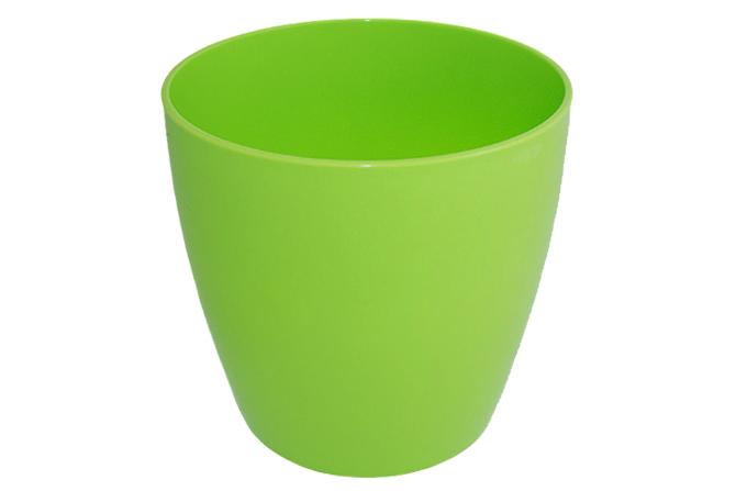 Doniczka OSŁONKA na doniczkę 19 cm CASING zielona