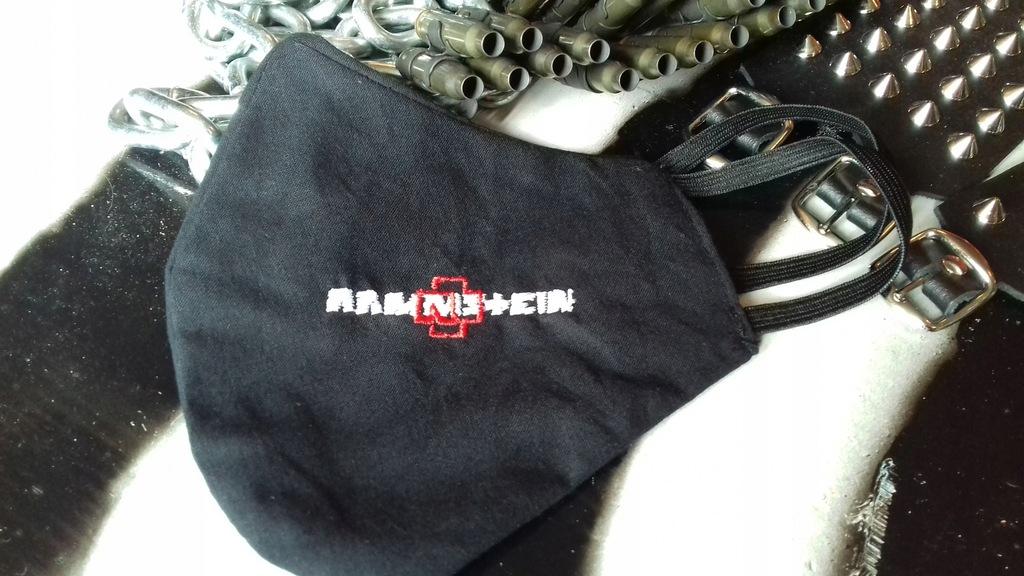 Maseczka Rammstein maska wielorazowa bawełniana