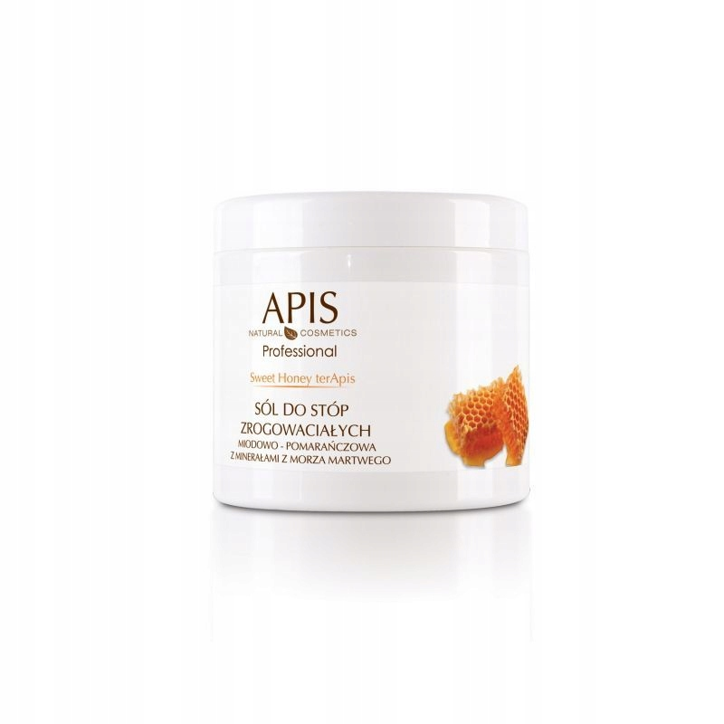 APIS Sweet Honey sól do stóp zrogowaciałych 650g