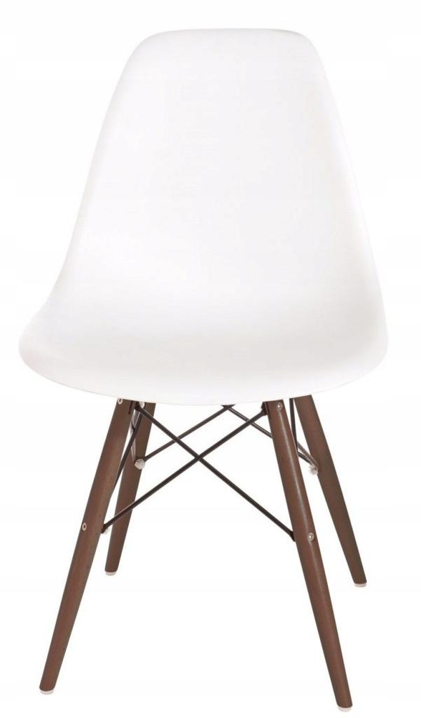 Krzesło P016W PP białe/dark