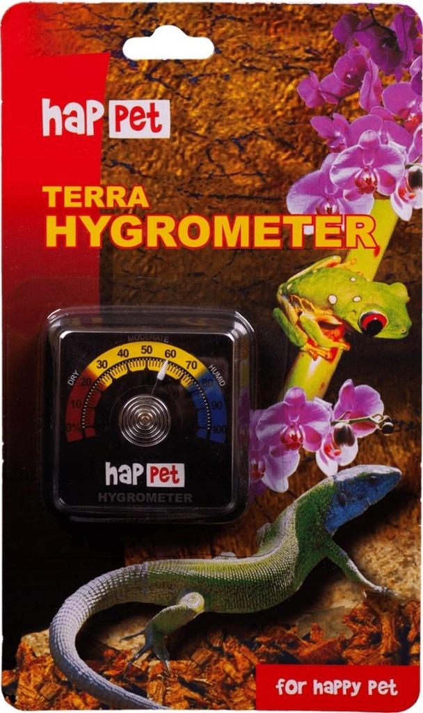 Higrometr do terrarium Happet