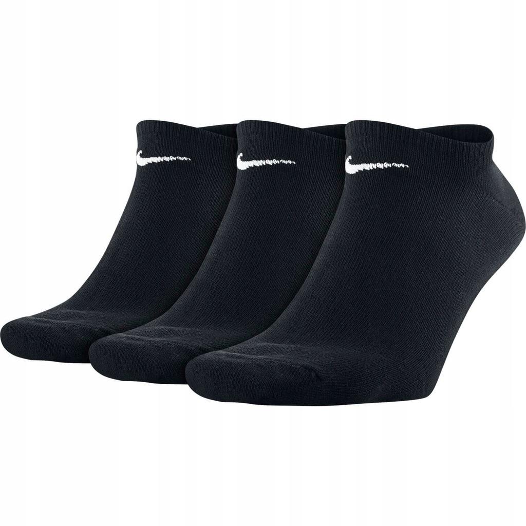 Nike SKARPETY 3Pack Value No Show SX2554-001 46-50