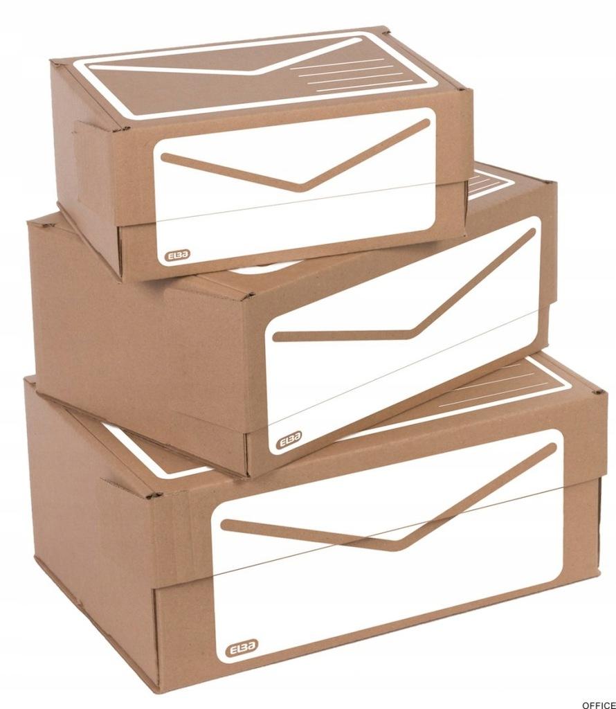 Pudełko pocztowe ELBA A4+ 340x230x140mm 400079261