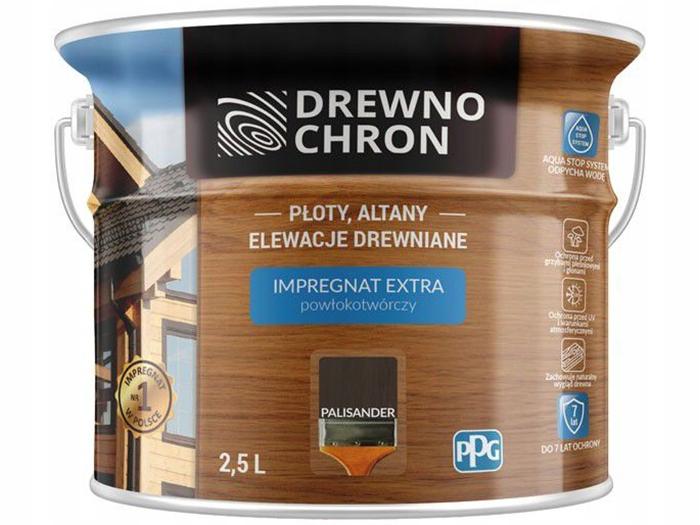 Impregnat pow Drewnochron Extra 2,5L Palisander